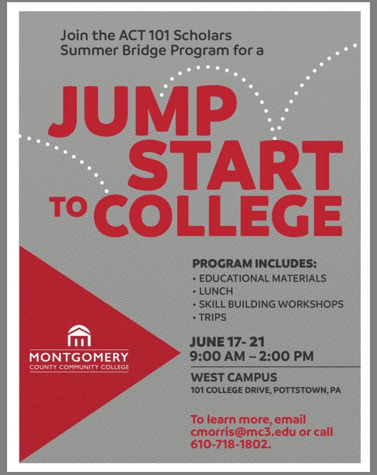 Montco College Jumpstart